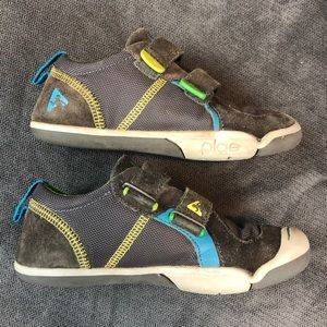 PLAE Shoes - Plae Shoes Ty Child 13 Minimal Gray Blue Green